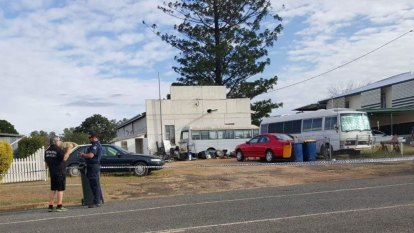 Two men deny rural Queensland stabbing murder
