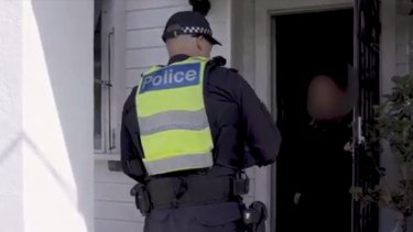 Victoria Police checking on residents who have recently been forced to self-isolate.