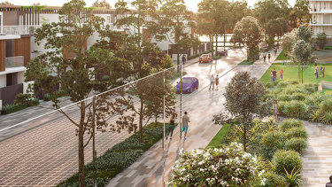 An artist's impression of Meriton's plans to build 1900 apartments at Little Bay, which may qualify to be fast-tracked under the NSW government's program to boost the economy and create jobs during the COVID-19 crisis.