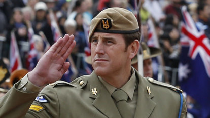 Ben Roberts-Smith set his sights way up high