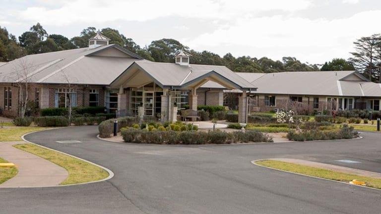The Warrigal Bundanoon aged care facility.