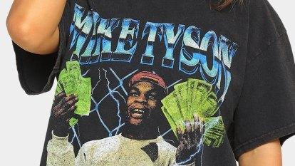 Mike Tyson sues Australian streetwear retailer Culture Kings for 'deceptive' T-shirts