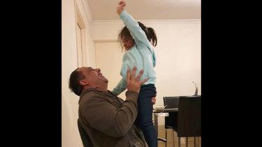 Aaron Khalid Osmani and his niece Erina.
