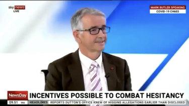 Queensland LNP Senator Gerard Rennick appears on Sky News Australia.