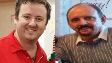 Brett (left) and Bruce Jenkins (right) are accused of scamming life savings out of elderly Queenslanders.