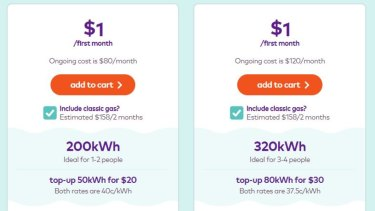 The kilowatt price of power for the pre-paid deal is almost a third higher than current average prices, once the $1 deal ends.