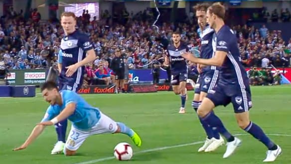 Referee got Fornaroli foul call wrong, says A-League