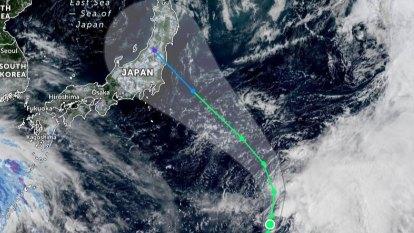 Typhoon the latest threat to Tokyo Olympics