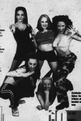 The Spice Girls... (notice the indecisiveness signalled by the ellipsis)