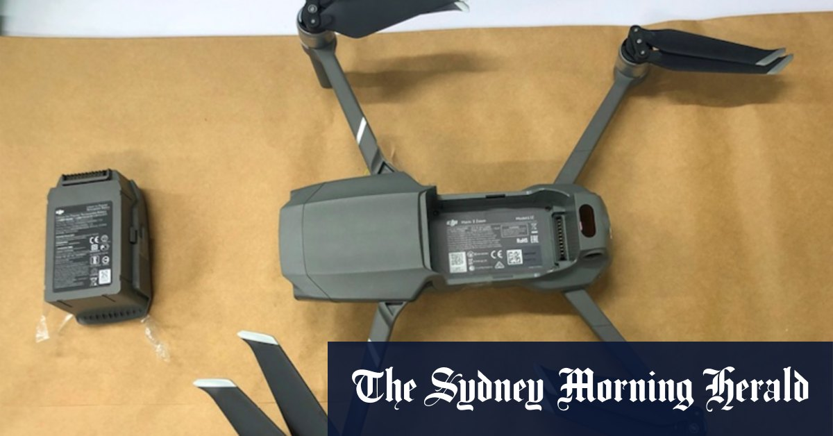 Appeal for information after drone carrying drugs SIM card found near Long Bay – Sydney Morning Herald