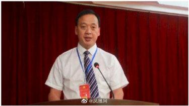 Liu Zhiming, the director of Wuchang Hospital in Wuhan.