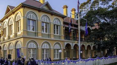 A student and a teacher have tested positive at Brisbane Girls Grammar School in Spring Hill.