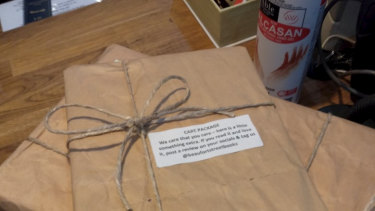 "Beaufort Street Books found a way to thank customers and support Australian authors and publishers with ""care packages""."