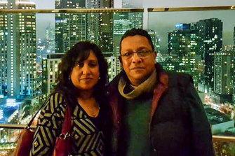 Shani and Jai Abeywickrema.