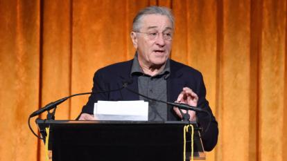 Robert De Niro describes Trump as an 'unrepentant, lying scum bag' at Washington dinner
