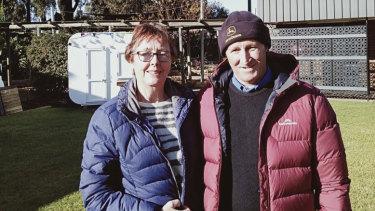 Margaret River couple Lee and Rene Matteeussen.