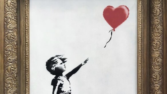 'It worked every time': Banksy reveals half-shredded artwork was an accident