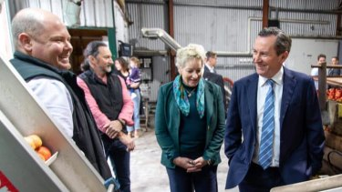 WA Agriculture Minister Alannah MacTiernan and Premier Mark McGowan have responded to China's banning of barley imports from CBH.