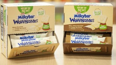 Nestle's sugar-reduced Milkybar Wowsomes chocolates proved a lemon in the UK.