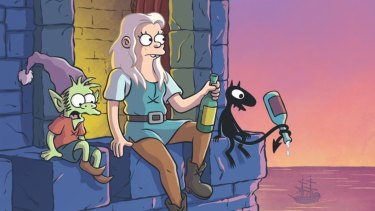 Disenchantment's lead character is voiced by Broad City's Abbi Jacobson.