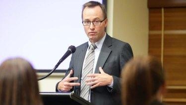 Greens justice spokesman David Shoebridge.