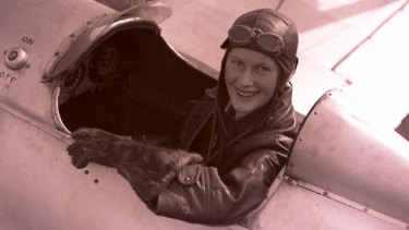 Pilot Nancy-Bird Walton died in 2009. She was named a National Living Treasure in 1997.