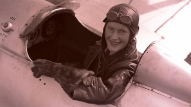 Pilot Nancy-Bird Walton died in 2009. She was named a National Living Treasure in 1997.