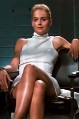 Bad girl ... Sharon Stone in <em>Basic Instinct</em>.