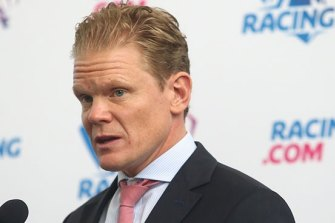 Racing.com chief executive Andrew Catterall is considered a front runner for the new integrated media business' CEO job.
