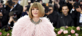 At the top of her game: Anna Wintour.