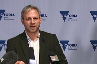 Victorian Chief Health Officer Brett Sutton said there would be stricter quarantine measures for close contacts of the Delta variant.