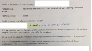 Ama Name Dropped On Egregious 18 000 Sydney Surgeon Bill