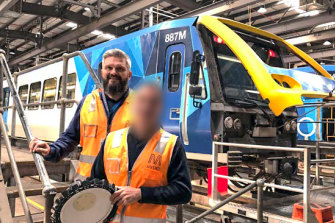 Metro Trains manager Peter Bollas.