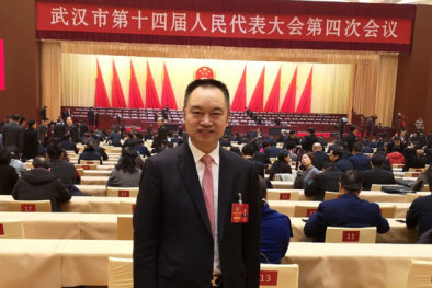 Former People's Liberation Army officer and businessman Kuang Yuanping.
