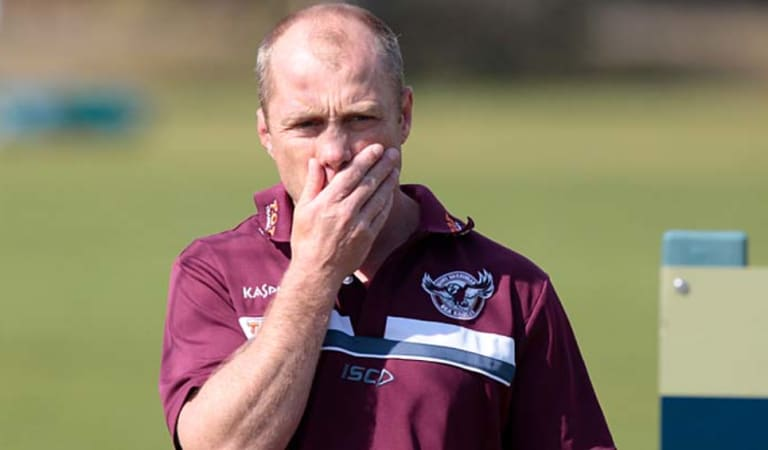 Gone but not forgotten: Former Manly coach Geoff Toovey.