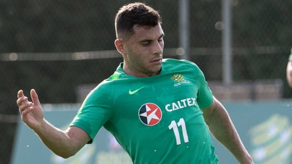 Another injury blow for Arnie as Nabbout ruled out of Syria clash