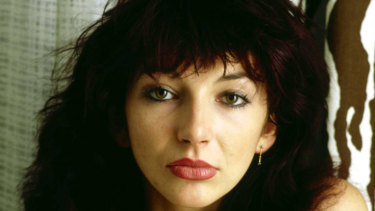 Kate Bush was on top of the British charts at the age of 19 with her debut release, <i>Wuthering Heights</i>.