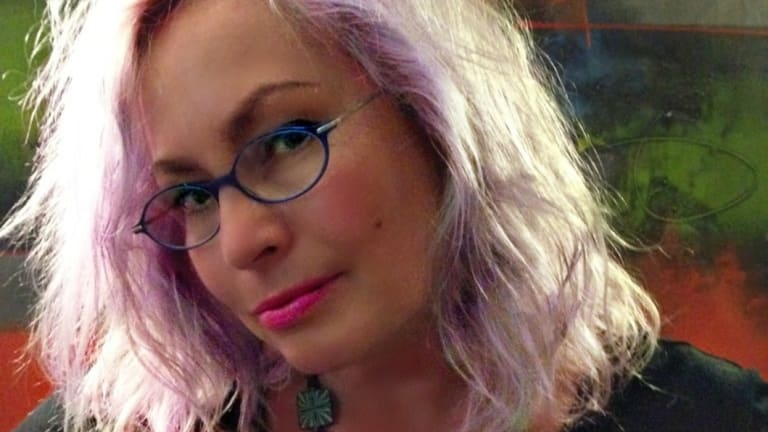 Writer Nikki McWatters.