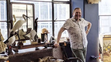 Mark Boldiston, founder of men's jewelry business Lord Coconut