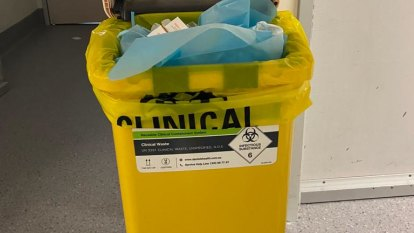 Bins overflow at The Alfred with ward access cut after positive tests