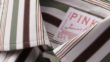 PINK Shirtmakers.