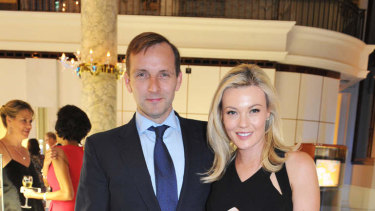 Aitken Investment Management, run by Charlie Aitken, pictured here with his wife Ellie, has had a rough year.
