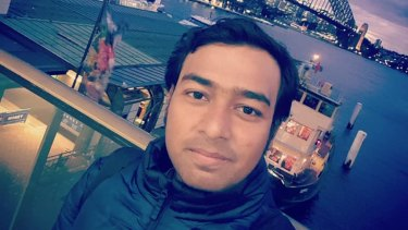 Bijoy Paul, a 27-year-old Uber Eats rider from Bangladesh, was killed in a road incident last year.