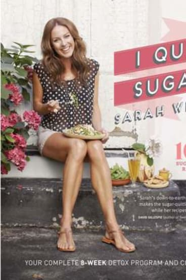 Sarah Wilson's best selling I Quit Sugar book.