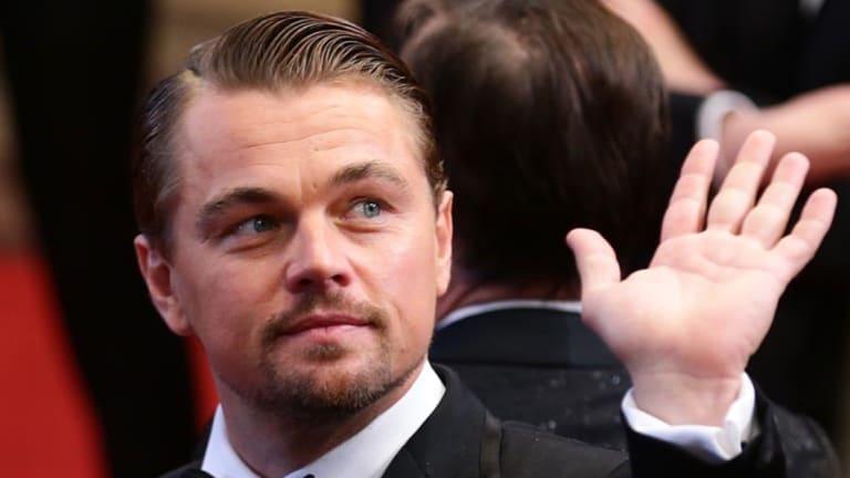 Ladies man ... Leonardo DiCaprio.