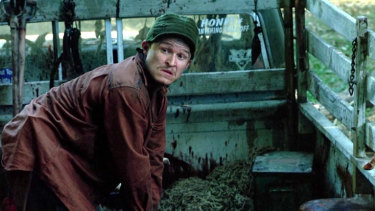 Herriman in his breakout role in the 2005 film House of Wax.