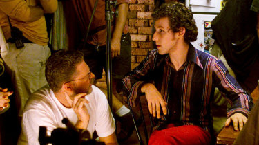 Tony McNamara directs Ben Lee in the 2003 film The Rage In Placid Lake.