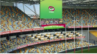 Opened-up levels of the Gabba are part of a report into its future.