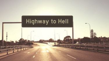 Where once there were The Giants, comes Highway To Hell.
