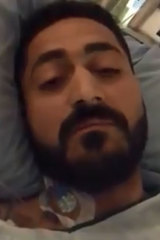 Wasseim Alsati has asked people to pray from him and his injured daughter.
